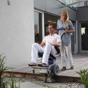 Outdoor Stair Climber Wheelchair