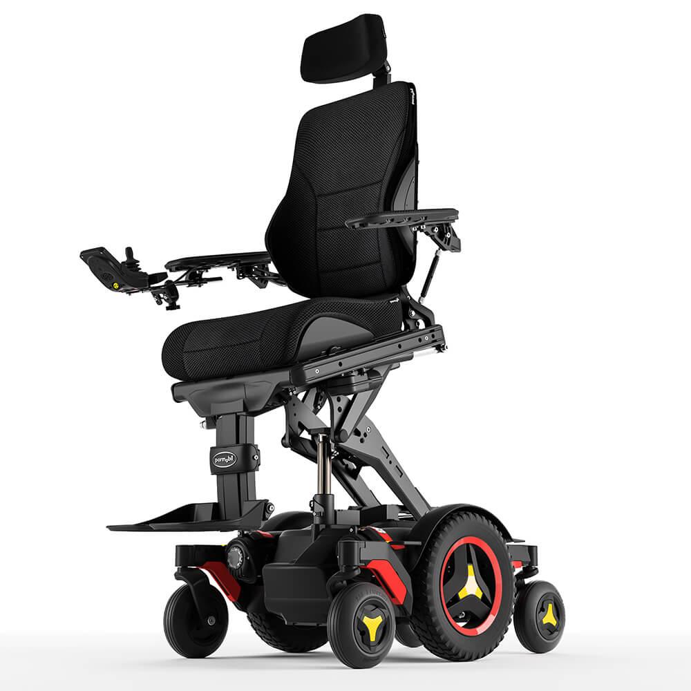 F5 Verticle Standing Permobil Wheelchair Hydrolic