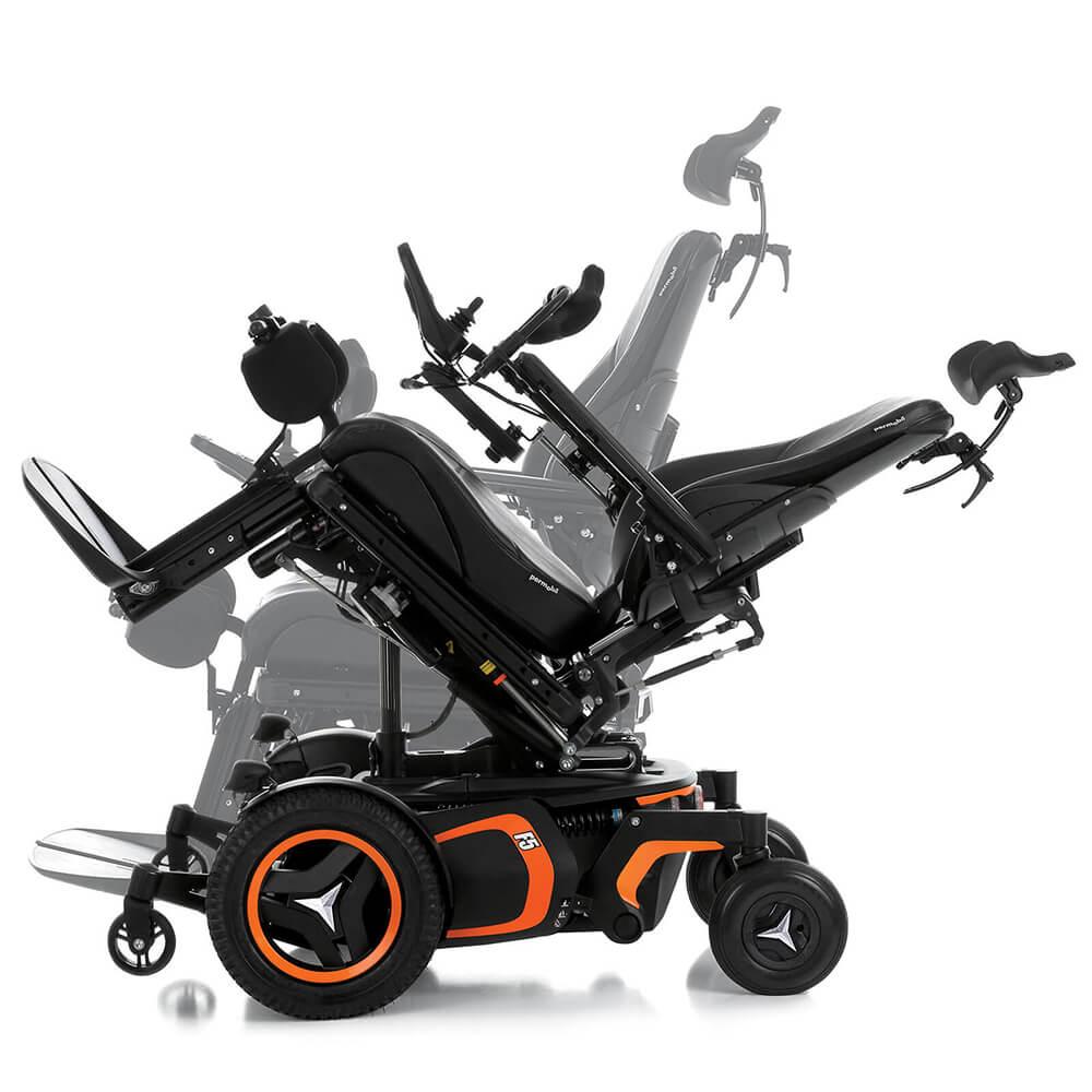 F5 Verticle Standing Permobil Wheelchair Tilt
